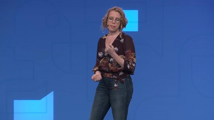 Nicole Sullivan stellt den Javascript-Fonds auf dem Chrome Dev Summit vor.