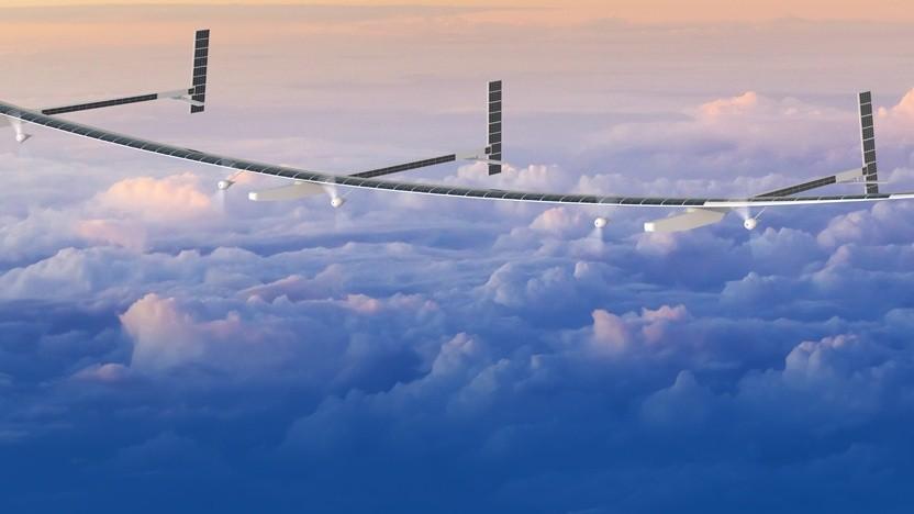 Solarflugzeug Odysseus: größere Spannweite als Solar Impulse