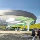 Nahe Augsburg: Elektrotankstelle für 4.000 Autos am Tag entsteht an der A8