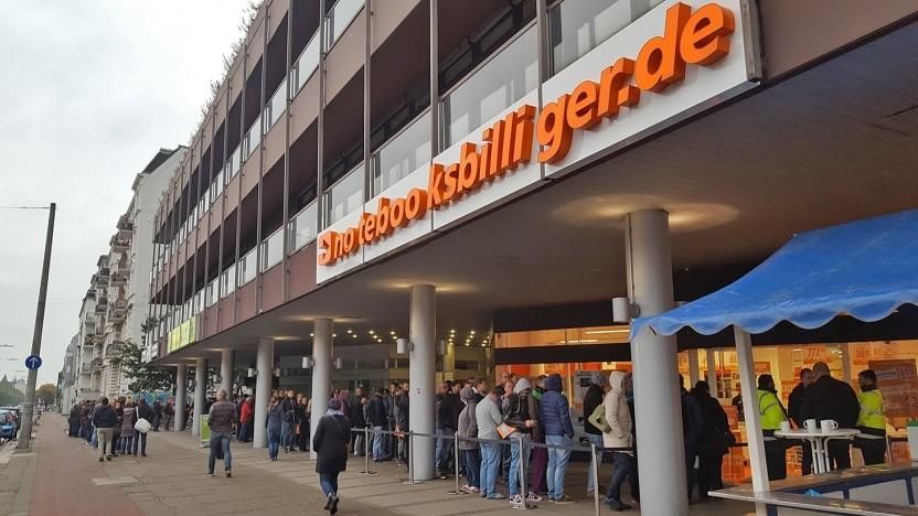Notebooksbilliger.de hat mittlerweile auch eigene Stores.