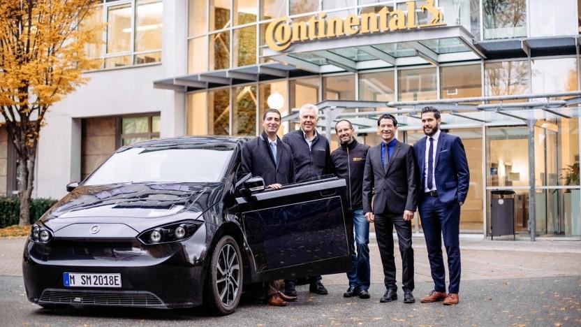 Elektroauto Sion bekommt einen Motor von Continental.