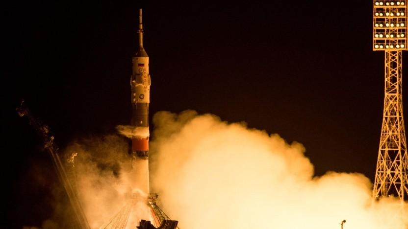 Start einer Sojus-Rakete (Symbolbild): 2,5 Tonnen Fracht für die ISS