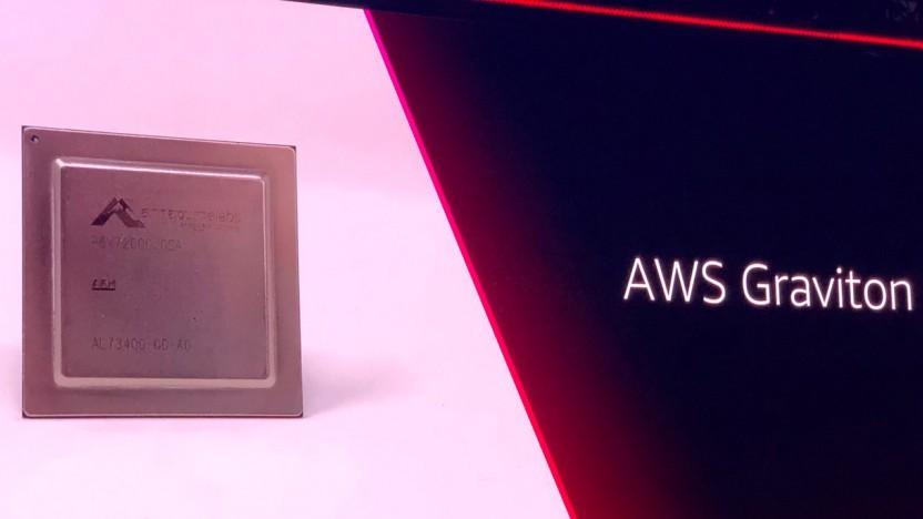 Amazon hat Instanzen mit eigenen Graviton-ARM-Chips.