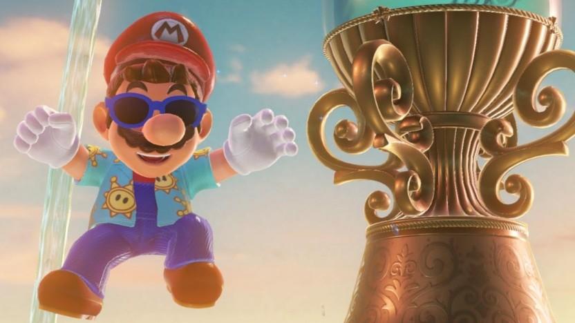 Artwork aus Super Mario Odyssey