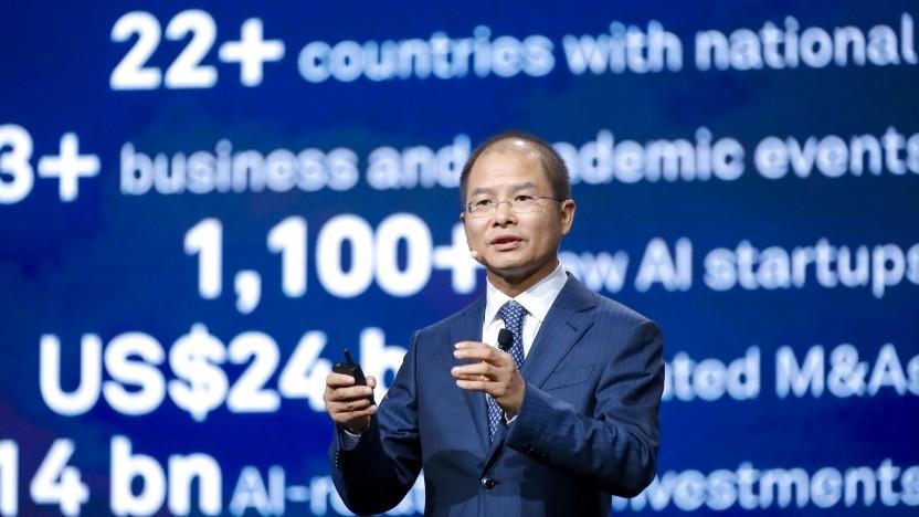 Eric Xu, Rotating Chairmen bei Huawei