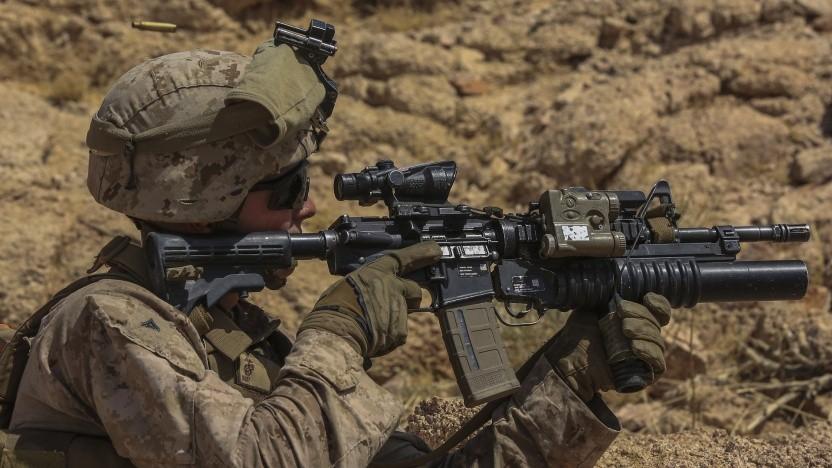 Hololens soll das Zielvermögen von Soldaten verbessern.
