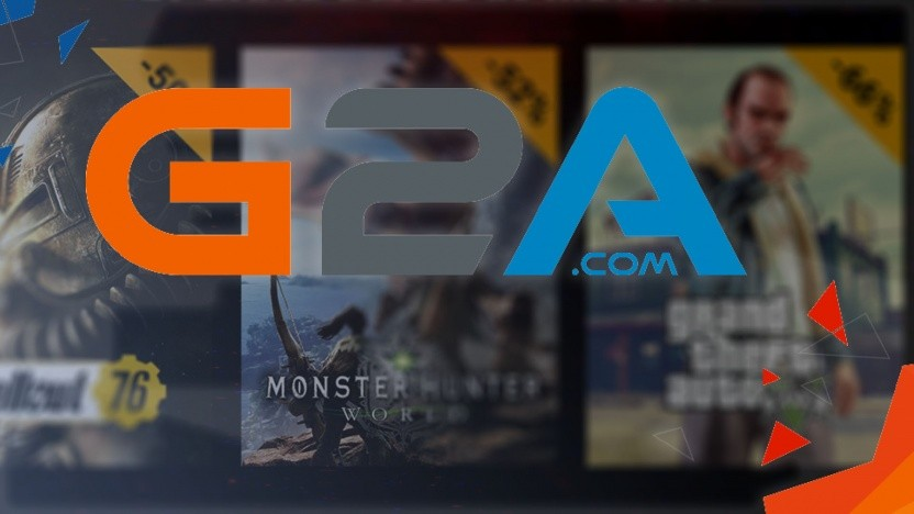 Werbung für den G2A Black Friday