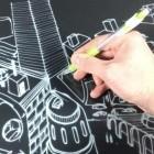 E Ink Justwrite Film: Beschreibbare Display-Folie kann überall angeklebt werden
