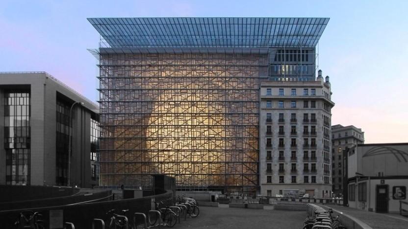 Das Gebäude des EU-Ministerrats, in dem die Vertreter der Mitgliedstaaten in Brüssel tagen.