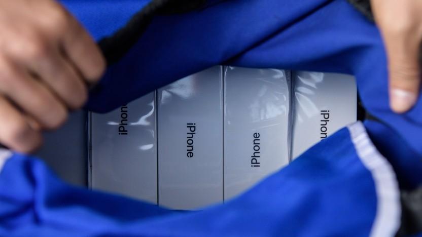 Bis Käufer das erste iPhone mit 5G-Technik kaufen können, dauert es noch.
