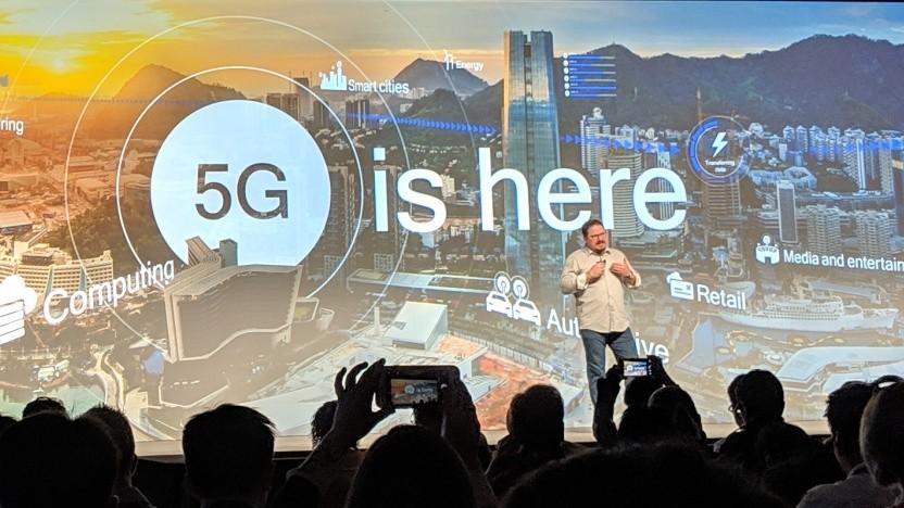 Qualcomms Cristiano Amon erläutert 5G.