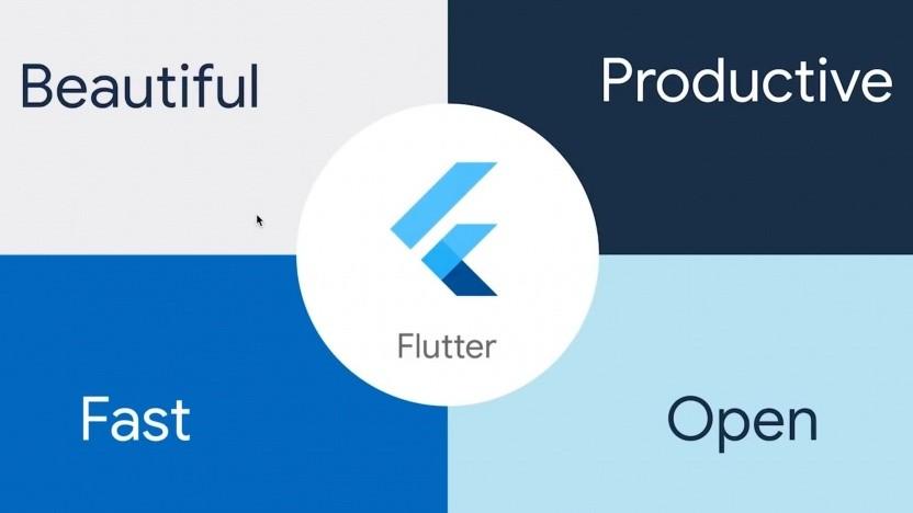 Google hat die erste offizielle Version von Flutter vorgestellt.