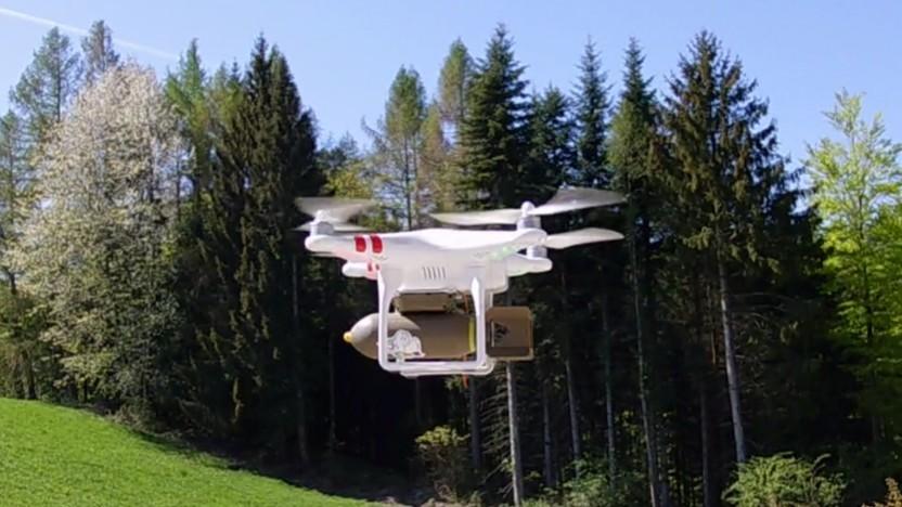 Zivile Drohnen können mit allerhand Payload bestückt werden.