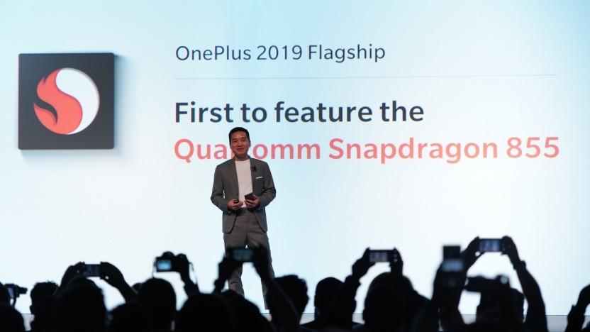 Oneplus-CEO Pete Lau kündigt ein 5G-Smartphone für 2019 an.
