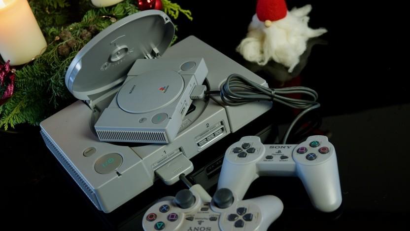 Die große frisst die kleine Playstation.
