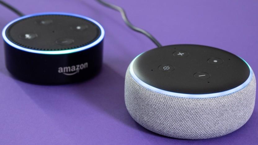 Alexa-Lautsprecher erhalten Stimmenerkennung.