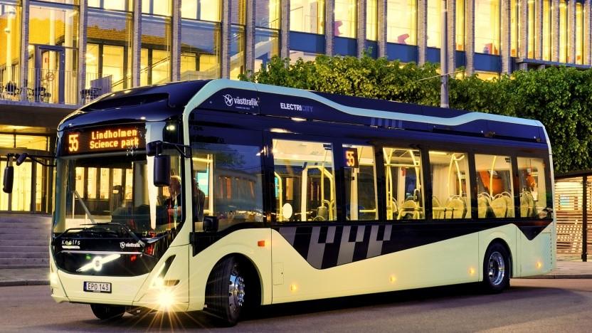Aus diesen Bussen stammen die Akkus.