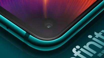 Beim Galaxy S10 soll wie hier beim Galaxy A8S das Infinity-O-Display zum Einsatz kommen.