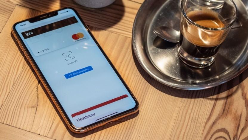 Mit dem iPhone Xs Max haben wir Apple Pay ausprobiert.