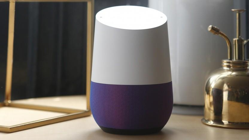 Google-Assistant-Lautsprecher können mit Musik wecken.