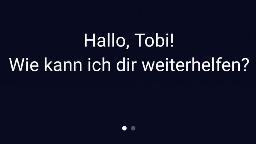 Samsungs Sprachassistent Bixby kann jetzt auch deutsch.