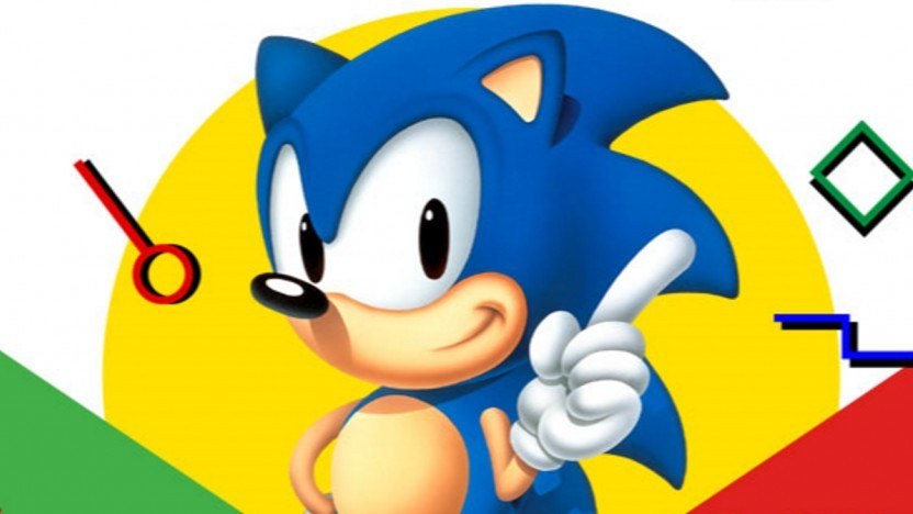 Artwork von Sonic the Hedgehog