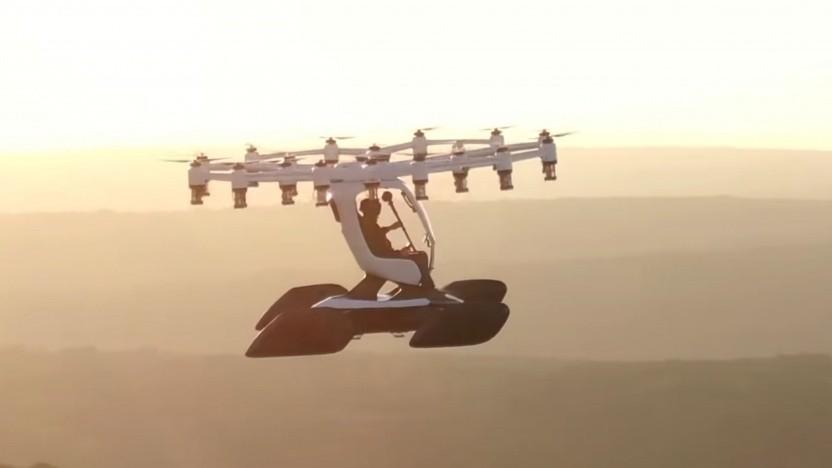Passagierdrohne Hexa: Sightseeing-Flüge in 25 US-Städten