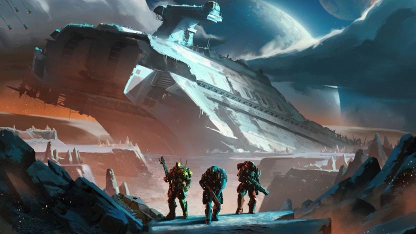 Artwork von Planetside Arena