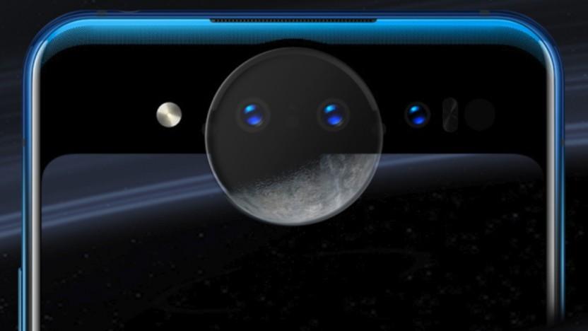 Die Rückseite des Vivo Nex Dual Screen mit dem Kameraring