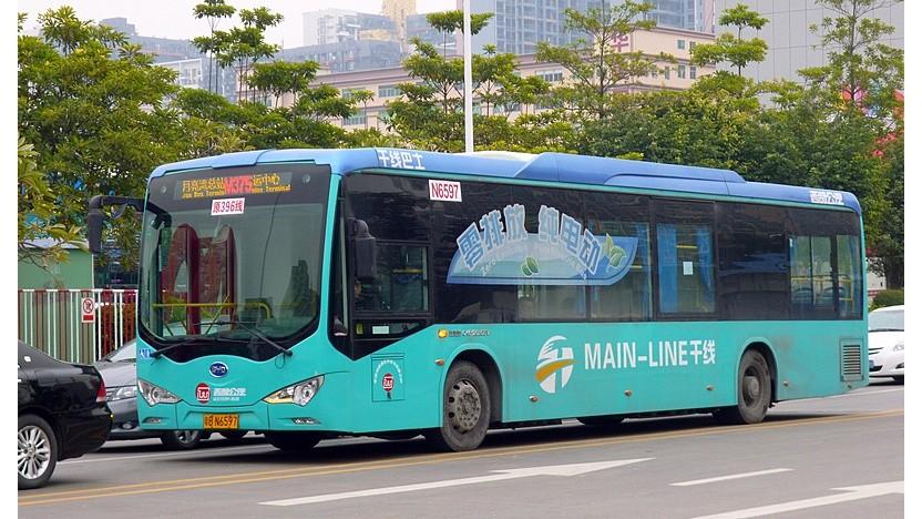 Elektrobus von BYD