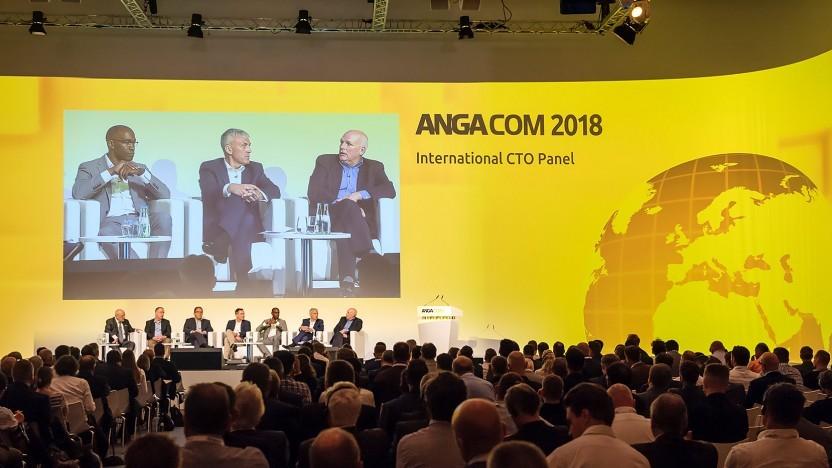 Auf der Angacom 2018