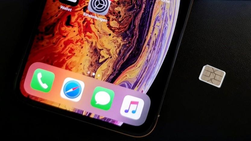 Die aktuellen iPhones brauchen keine physische SIM-Karte mehr.
