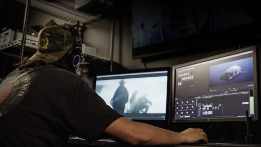 Videocutter bei der Arbeit