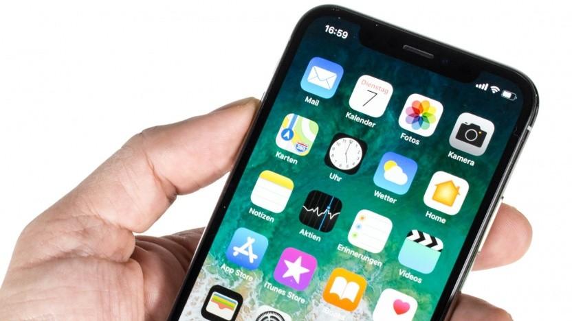 Unter anderem von einem möglichen Verkaufsstopp betroffen: das iPhone X.