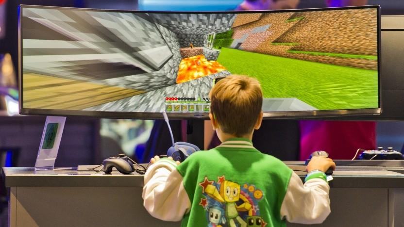 Junger Spieler auf der Gamescom 2018