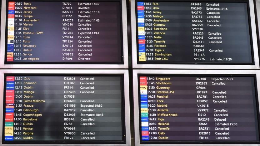 Gestrichene Flüge in Gatwick: 760 Flüge und 110.000 Passagiere betroffen