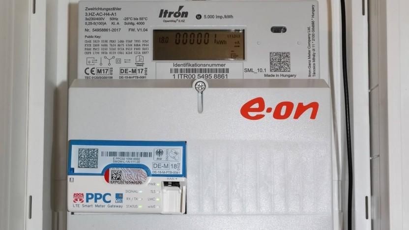 Das erste zertifizierte Smart Meter Gateway von PPC (links unten) wird von Eon genutzt.