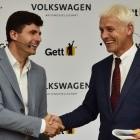 Fahrdienst: Volkswagen schreibt Investitionen in Gett ab