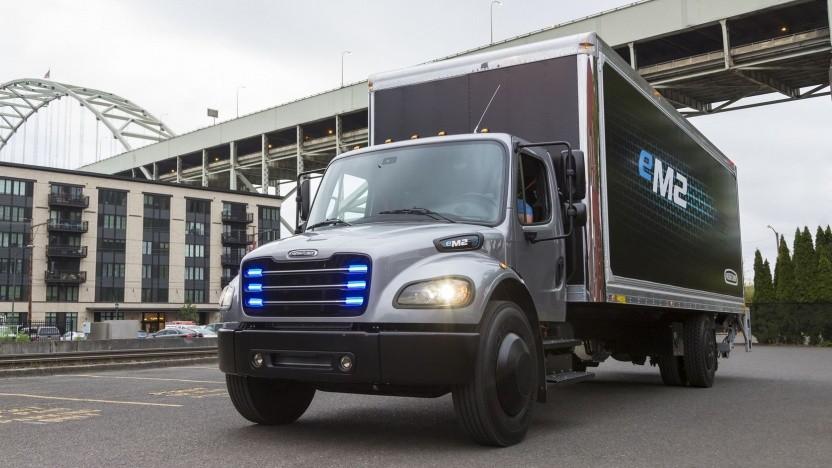 Freightliner eM2: Serienproduktion soll 2021 starten.