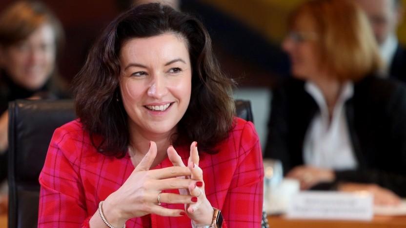 Digitalstaatsministerin Dorothee Bär fordert Änderungen bei den Datenschutzregeln.