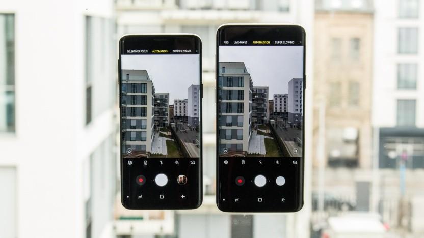 Samsung Galaxy S9 und S9+: Android 9 hat eine neue Oberfläche.