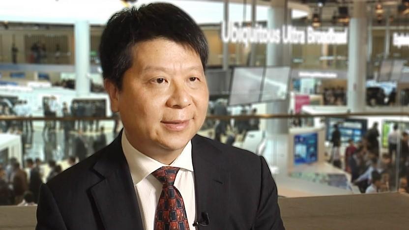 Huawei Rotating CEO Guo Ping