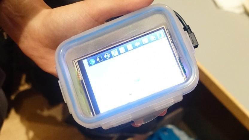 Das Eigenbau-Smartphone aus der Brotdose