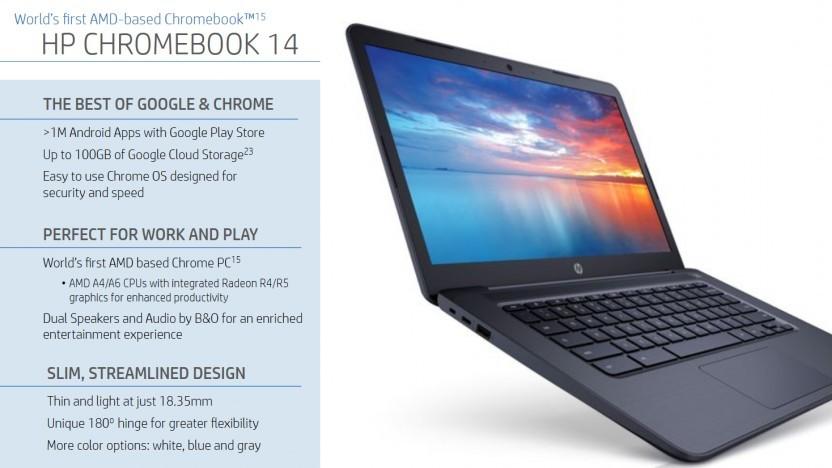 Chromebook mit AMD-Chip