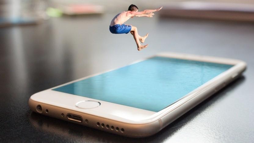 Als IT-Freiberufler sollte man lieber nicht ins kalte Wasser springen, sondern vorher testen.