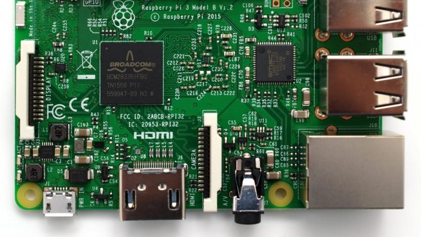 Auch der Raspberry Pi 3 enthält die Sicherheitslücke.