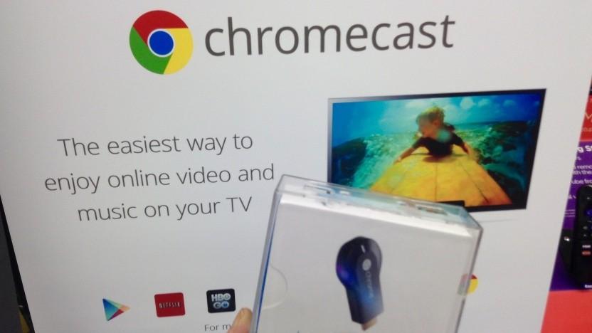 Über das Internet verwundbar: Chromecast
