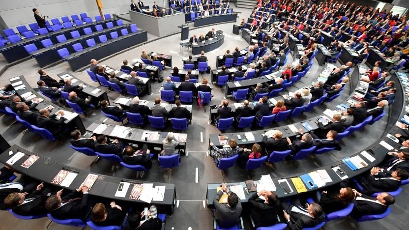 Daten von Mitgliedern des Deutschen Bundestags sind im Netz gelandet.