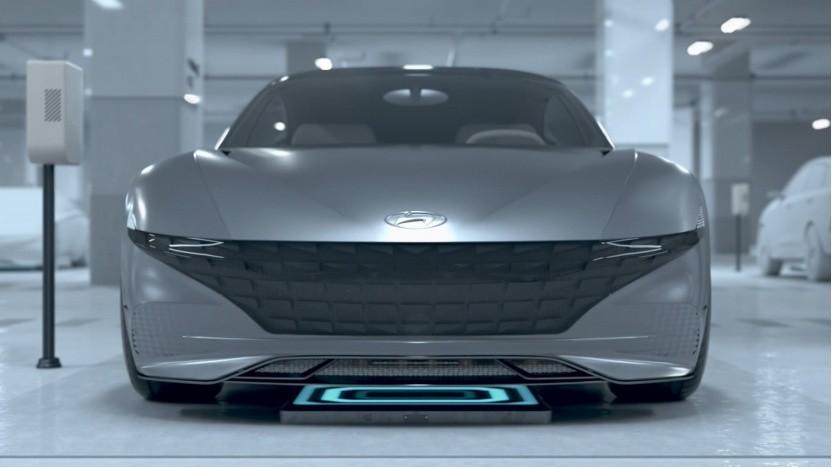Automated Valet Parking System von Hyundai: permanente Kommunikation zwischen Elektroauto, Parkhaus, Ladesystem und Fahrer