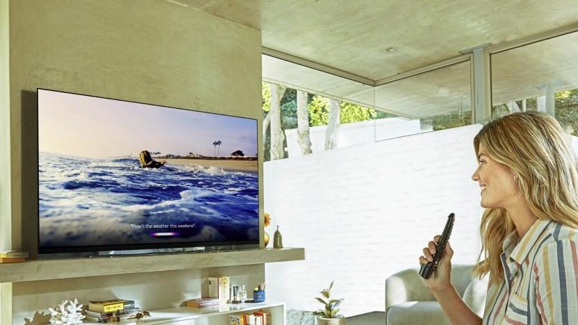 Ein LG-Fernseher mit OLED-Panel